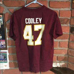 VTG NFL Reebok Chris Cooley Redskins Fan T Shirt